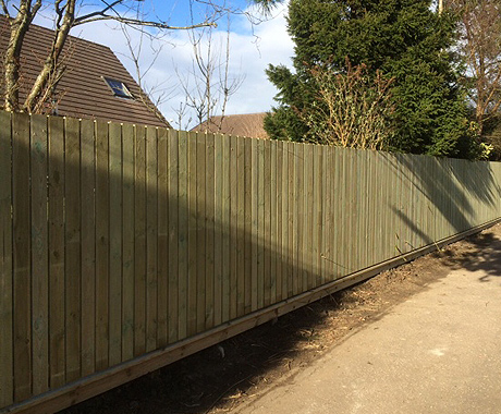 Timber Fencing Glasgow