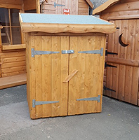 Wooden Garden Storage Scotland