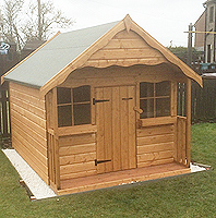Timber Playhouses Scotland