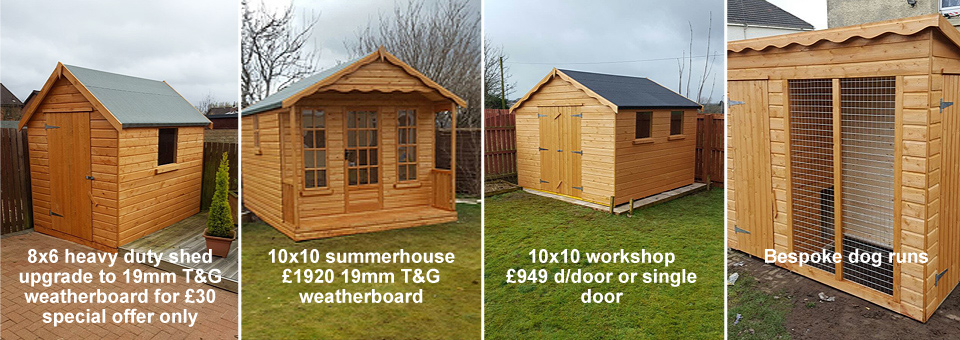 Sheds Special Offers