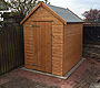 Apex Roof Shed Coatbridge
