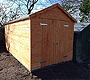 Apex Roof Sheds Glasgow