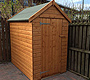 Wooden Shed Airdrie